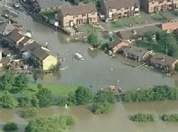 Inundaciones en Inglaterra