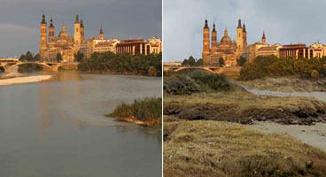 Previsión Ebro en Zaragoza